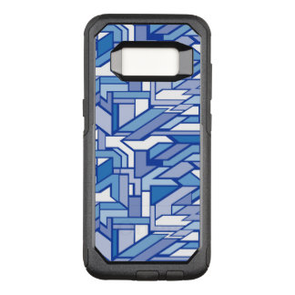 Geometric pattern 2 OtterBox commuter samsung galaxy s8 case