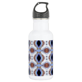 Geometric pattern 532 ml water bottle