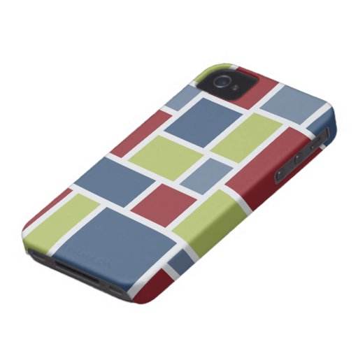 Geometric Pattern Blackberry Bold case iPhone 4 Case-Mate Cases
