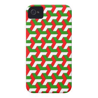 Geometric pattern BlackBerry Case-Mate Case iPhone 4 Covers