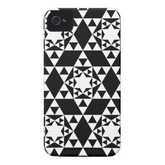 Geometric pattern BlackBerry Case-Mate Case iPhone 4 Case-Mate Cases