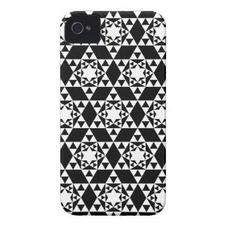 Geometric pattern BlackBerry Case-Mate Case iPhone 4 Case-Mate Case