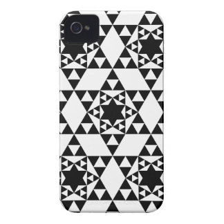Geometric pattern BlackBerry Case-Mate Case iPhone 4 Cases