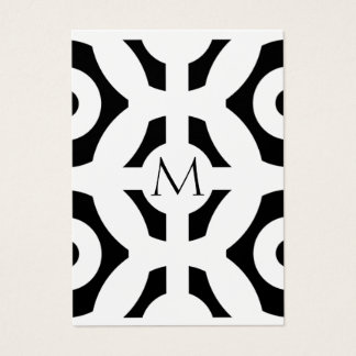 Geometric Pattern Business Card