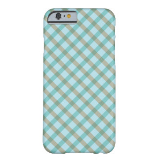 Geometric Pattern Checkered Barely There iPhone 6 Case