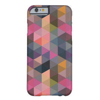 Geometric Pattern Colorful Triangles Barely There iPhone 6 Case