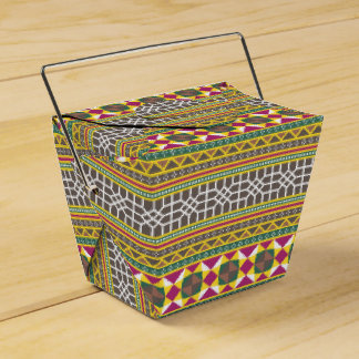 Geometric pattern favour box