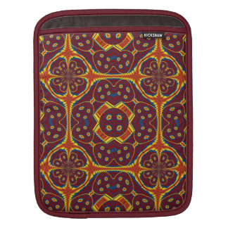 Geometric pattern iPad sleeve