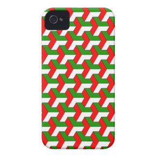 Geometric pattern iPhone 4 Case-Mate Case