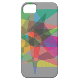 geometric pattern layered colour iphone case iPhone 5/5S case