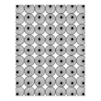 Geometric Pattern Postcard