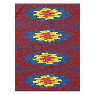 Geometric pattern tablecloth