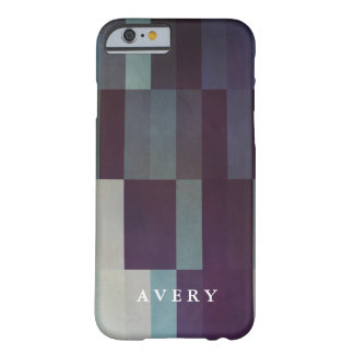 Geometric Patterns | Dark bars Barely There iPhone 6 Case