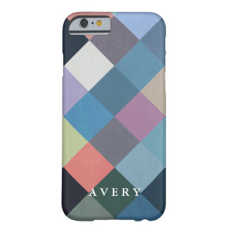 Geometric Patterns | Multicolor Blocks Barely There iPhone 6 Case