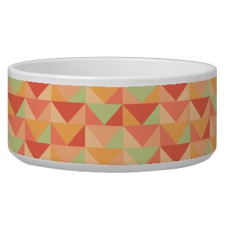 Geometric Peach Teal Modern Colorful Pattern