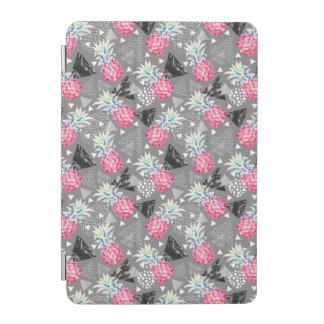 Geometric Pineapple Textured Pattern iPad Mini Cover