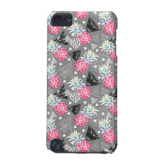 Geometric Pineapple Textured Pattern iPod Touch (5th Generation) Cover