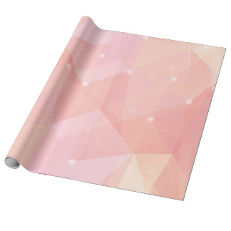 Geometric Pink, Wrapping Paper
