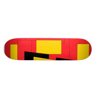 Geometric Pleasure Custom Skate Board