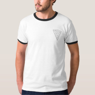 Geometric Pocket Pizza shirt