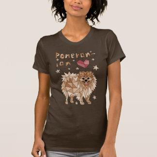 Geometric Pomeranian T-Shirt