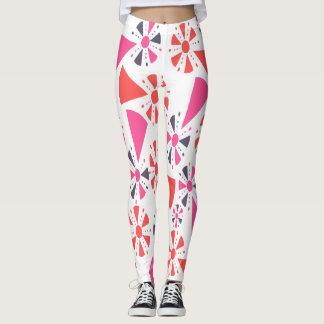 geometric popsicles leggings