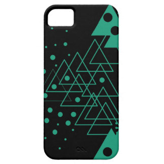 geometric random design iPhone 5 cover