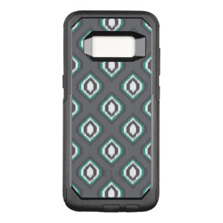 Geometric retro ikat tribal pattern OtterBox commuter samsung galaxy s8 case