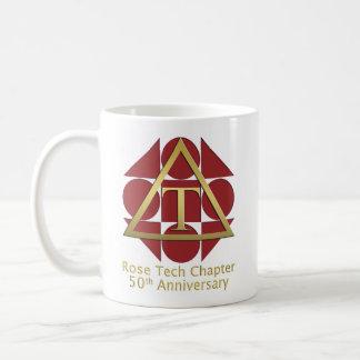 """Geometric Rose"" 50th Anniversary Mug"