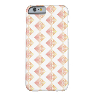 Geometric Rosy Pattern iPhone Case