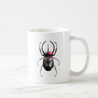 Geometric Scarab Coffee Mug