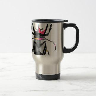 Geometric Scarab Travel Mug