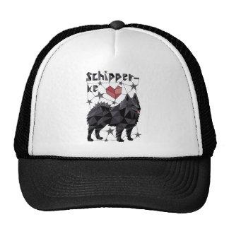 Geometric Schipperke Cap