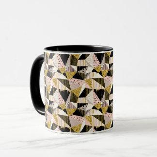 Geometric seamless glitter pattern Coffee Mug