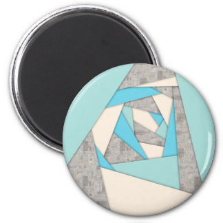 Geometric Shapes Abstract Magnet