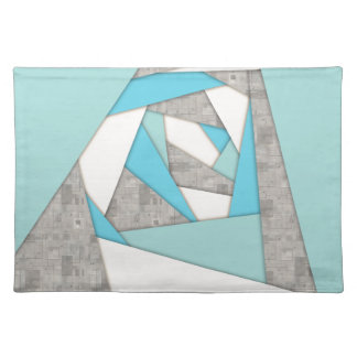 Geometric Shapes Abstract Placemat