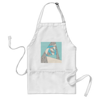 Geometric Shapes Abstract Standard Apron