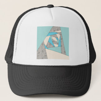 Geometric Shapes Abstract Trucker Hat