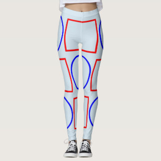 Geometric shapes Funky Leggings