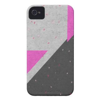 Geometric Shapes Pattern iPhone 4 Case-Mate Case