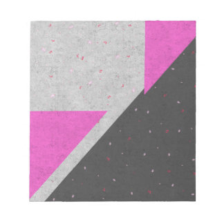 Geometric Shapes Pattern Notepad