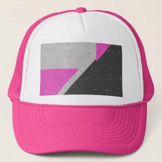 Geometric Shapes Pattern Trucker Hat