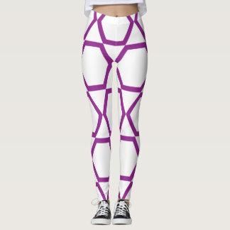 geometric shaping leggings
