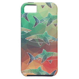 Geometric Sharks iPhone 5 Cover