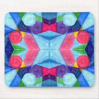 Geometric Skittles Mousepad