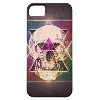 Geometric skull barely there iPhone 5 case