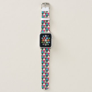 Geometric Southwest Ethnic Triangle Pattern Apple Watch Band