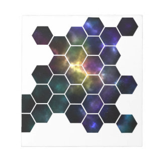 geometric space notepad