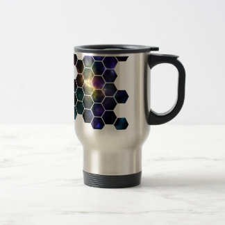 geometric space travel mug