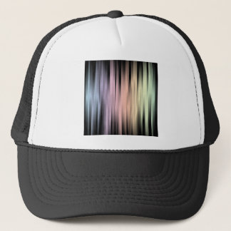 Geometric Spectral Abstract Trucker Hat